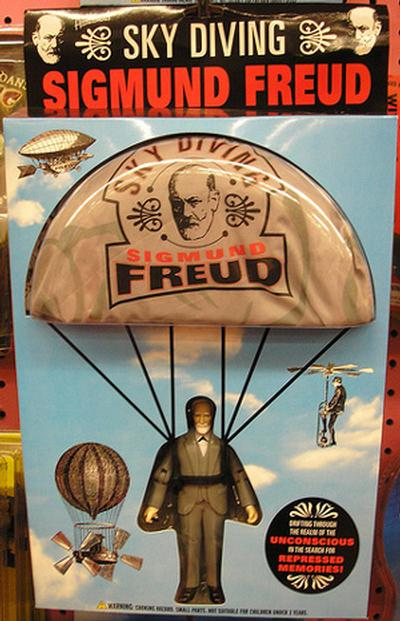 Click to get Sky Diving Freud