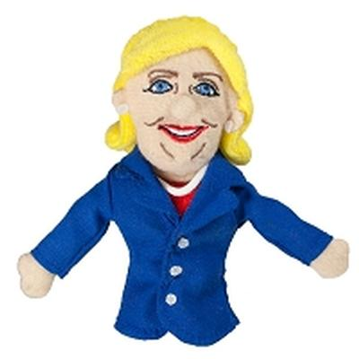 Click to get Hillary Clinton Finger Puppet