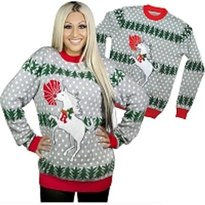 Click to get Ugly Christmas Sweater Unicorn Rudolph