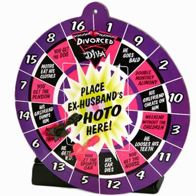 Click to get Divorce Diva Magnetic Dartboard