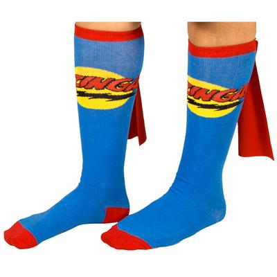 Click to get Big Bang Theory Bazinga Blue Cape Socks