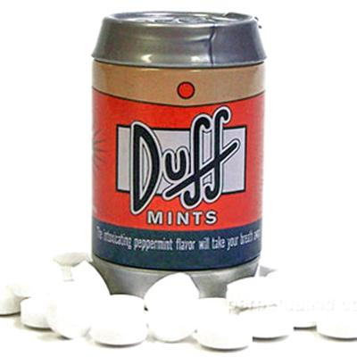 Click to get Simpsons Duff Mints