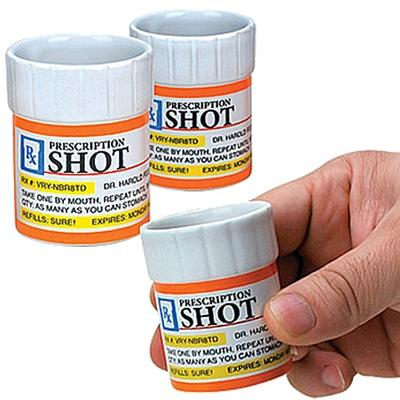 Click to get Prescription Pill Bottle Shot Glasses