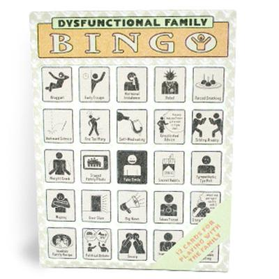Click to get Dysfunctional Family Bingo