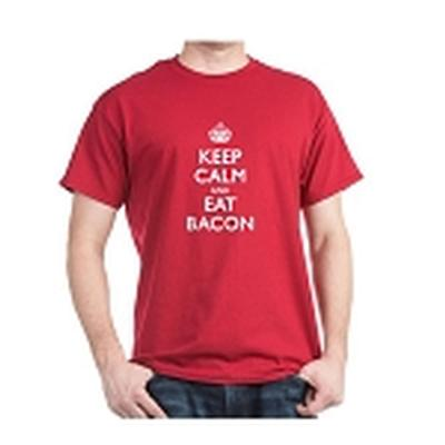 Click to get Keep Calm Eat Bacon TShirt
