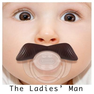 Click to get Mustache Pacifier The Ladies Man