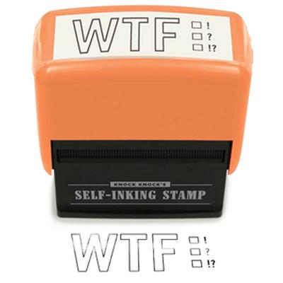 Click to get WTF Rubber Stamp