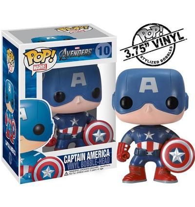 Click to get Captain America POP Vinyl Figure