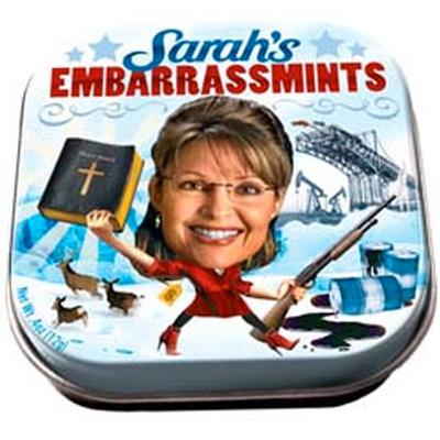 Click to get Sarah Palin Embarassmints