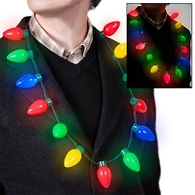 Click to get Light Up Christmas Bulb Necklace
