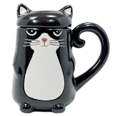 Click to get Cat with Lid Mug