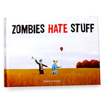 Click to get Zombies Hate Stuff Book
