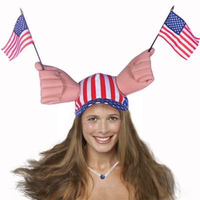 Click to get Waving Flag Hat