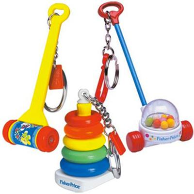Click to get Fisher Price Classics Keychains Set of 3