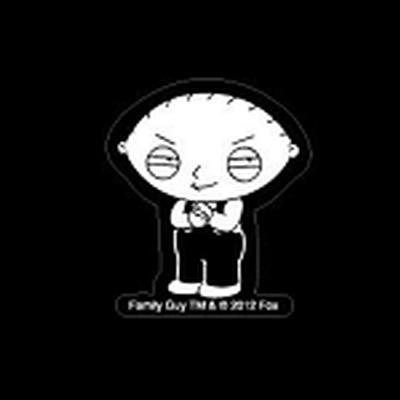 Click to get Family Guy Stewie Griffin Car Decal 4x7