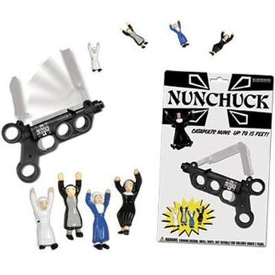 Click to get Nunchucks Nun Catapult