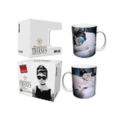 Click to get Breakfast at Tiffanys Mug Sleeping