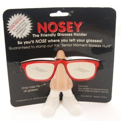 Click to get Over the Hill Nosey Glasses Holder