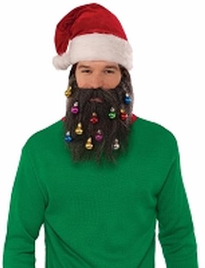 Click to get Santa Beard with Ornaments