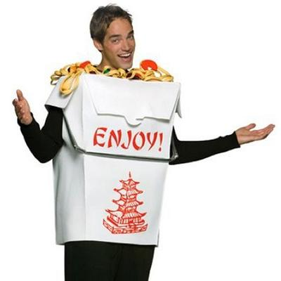 Click to get Chinese Takeout Box Costume