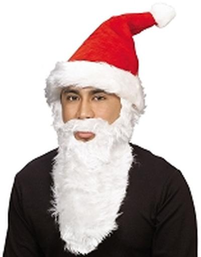 Click to get Plush Santa Hat with Beard