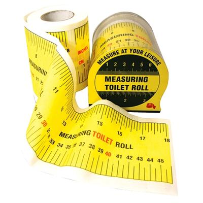Click to get Measuring Tape Toilet Paper