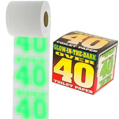 Click to get Glow in the Dark Over 40 Toilet Paper