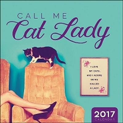 Click to get Call Me Cat Lady Wall Calendar 2017