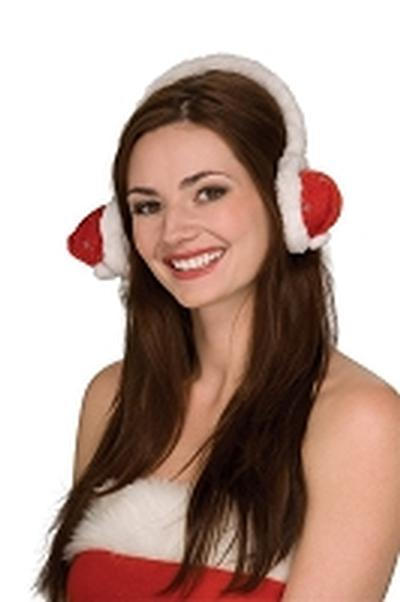 Click to get Santa Hat Ear Muffs