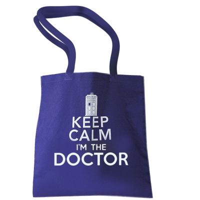 Click to get Doctor Who Keep Calm Tote Bag