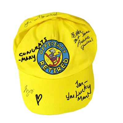 Click to get Officially Retired Autograph Hat