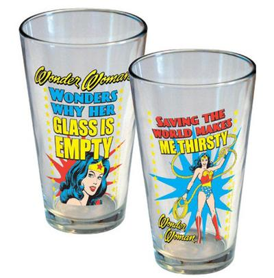Click to get Wonder Woman Glass Set
