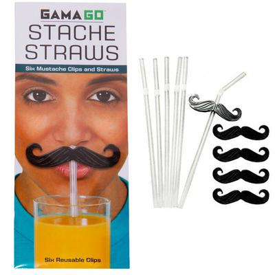 Click to get Stache Straws  Mustache Straw Clips