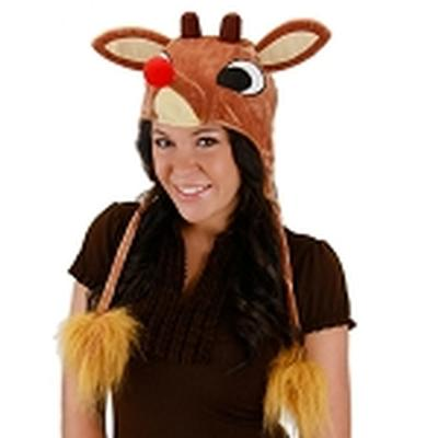 Click to get Rudolph LightUp Hoodie Hat