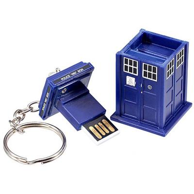 Click to get Doctor Who 4GB TARDIS Flash Drive