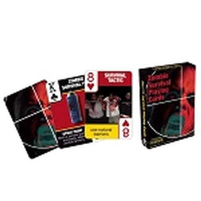 Click to get Zombie Survival Tips Playing Cards