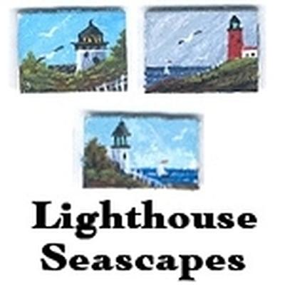 Click to get Miniature Lighthouse Masterpiece  Painting by Don Joslyn
