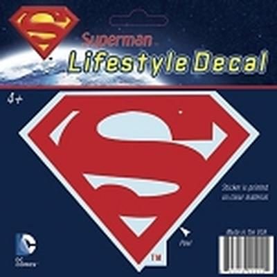 Click to get Superman Logo Car Decal Red