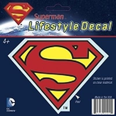 Click to get Superman Shield Car Decal Multicolor