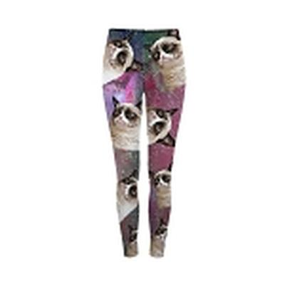 Click to get Grumpy Cat Space Leggings Large