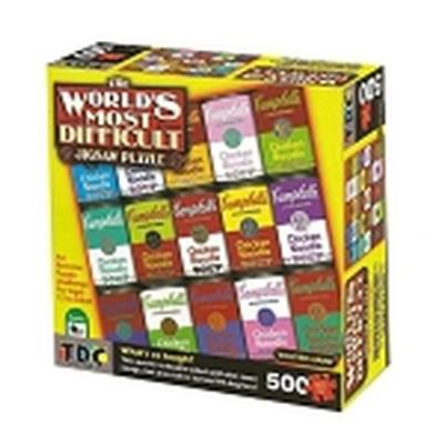 Click to get Campbells Souper Hard Worlds Most Difficult Jigsaw Puzzle