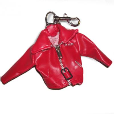 Click to get Mini Leather Jacket Keychain