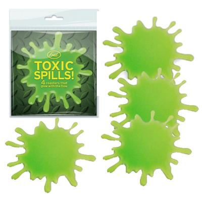 Click to get Toxic Spills Drink Coasters
