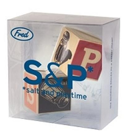 Click to get Salt and Playtime Block S P Shakers
