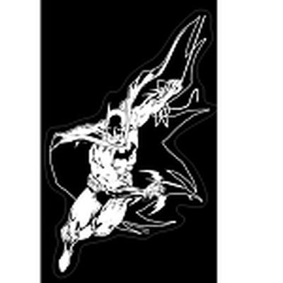 Click to get Batman Action Vinyl Car Decal