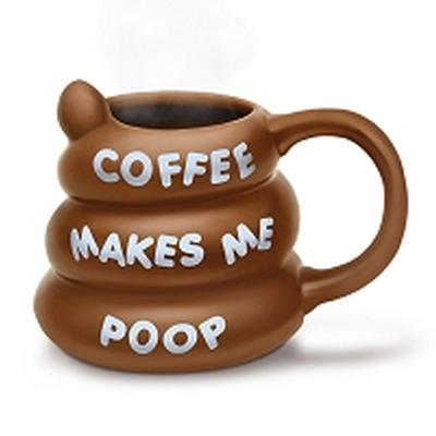 Click to get Coffee Makes Me Poop Mug