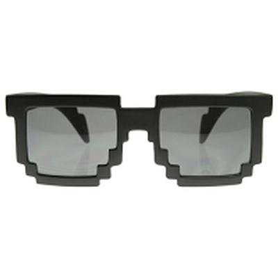 Click to get 8Bit Pixel Glasses Black