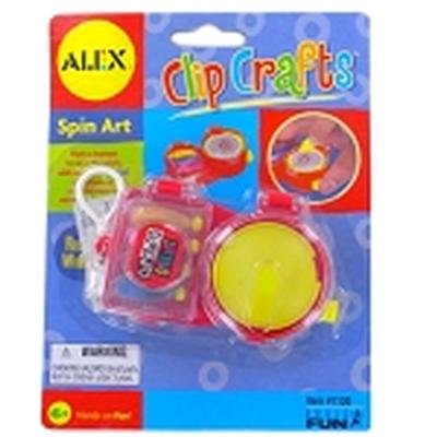 Click to get Clip Crafts Spin Art Kit