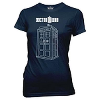 Click to get Doctor Who Vector Tardis Junior Shirt Small