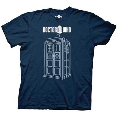 Click to get Doctor Who Vector Tardis TShirt